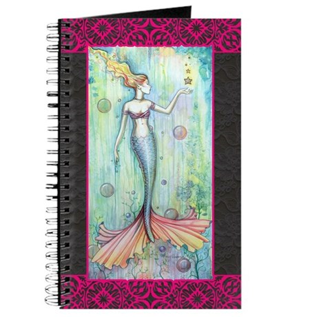 Bubbles Mermaid Journal
