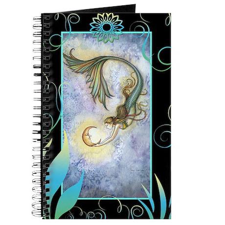 Deep Sea Moon Mermaid Journal