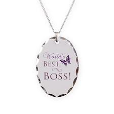 World's Best Boss Necklace