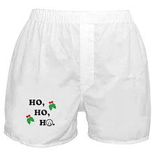 Ho Ho Ho - light Boxer Shorts