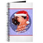 Bull Mastiff Christmas Design Journal