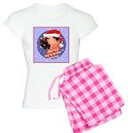 Bull Mastiff Christmas Design Women's Light Pajama