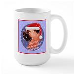 Bull Mastiff Christmas Design Large Mug