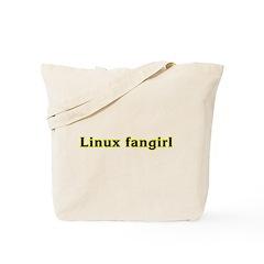 Linux fangirl Tote Bag