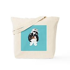 Shitzu BLUE Tote Bag