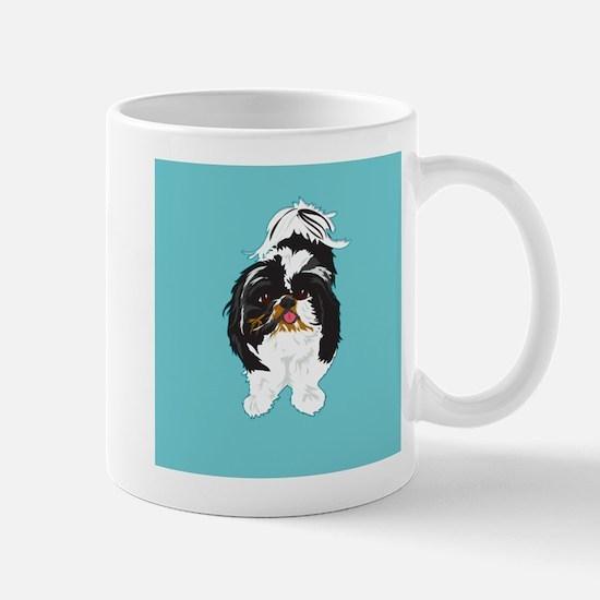 Shitzu BLUE Mug