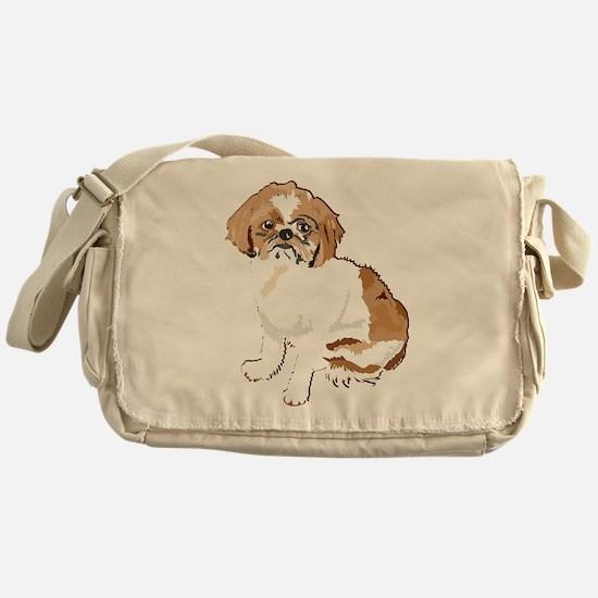 just shitzu Messenger Bag