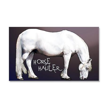 Hug Your Horse - Car Magnet 20 X 12