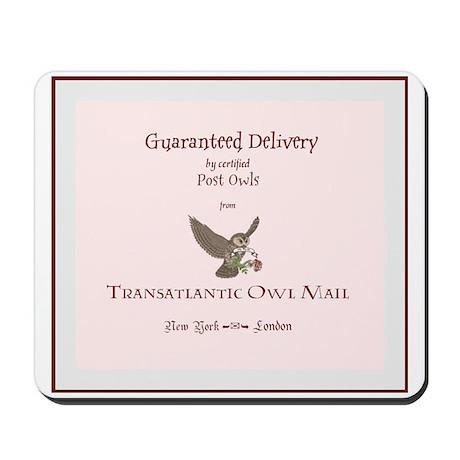 'Owl Mail' Mousepad