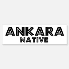 Ankara Native Bumper Bumper Bumper Sticker