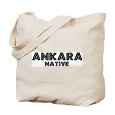 Ankara Native Tote Bag