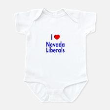 I Love Nevada Liberals Infant Creeper