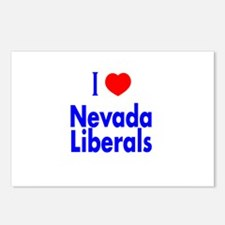 I Love Nevada Liberals Postcards (Package of 8)