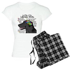 Black Lab Brain Pajamas