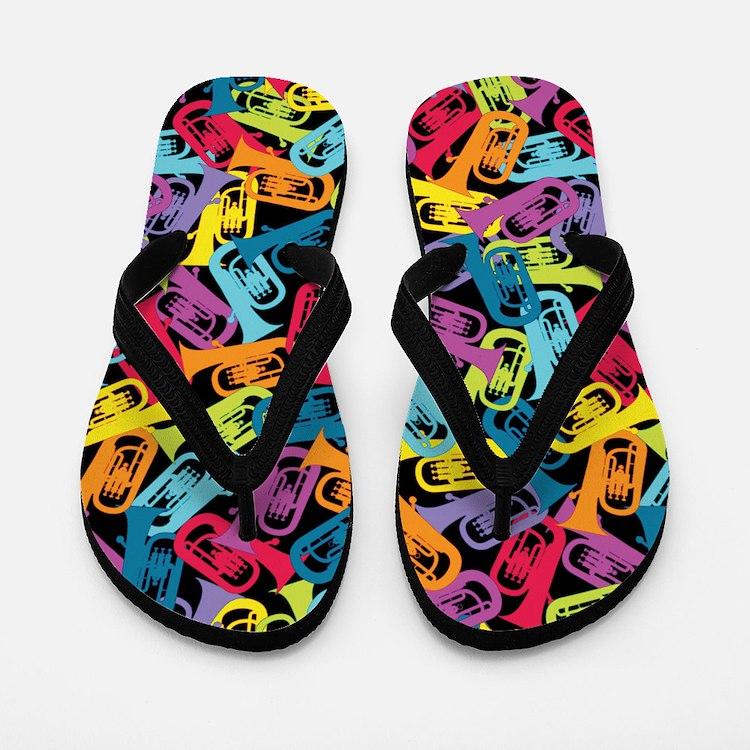 Colorful Euphoniums - Flip Flops