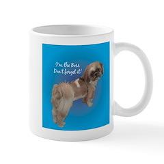 funny shitzu Mug