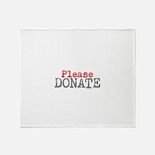 Unique Charities Throw Blanket