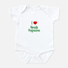 I Love Nevada Progressives Infant Creeper