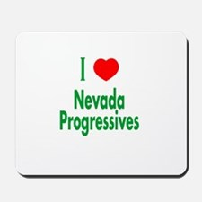 I Love Nevada Progressives Mousepad
