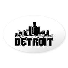 Detroit Skyline Decal