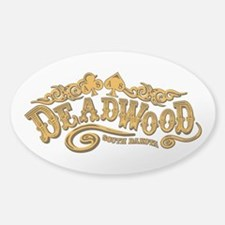 Deadwood Saloon Sticker (Oval)