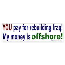Rebuilding Iraq Bumper Bumper Sticker