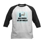GAS PRICES ATE MY WALLET Kids Baseball Jersey
