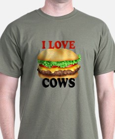 Funny I love Cows T-Shirt