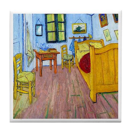 Van Gogh - Bedroom at Arles Tile Coaster
