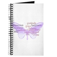 Peace and Gratitude Butterfly Journal
