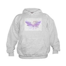 Peace and Gratitude Butterfly Hoodie