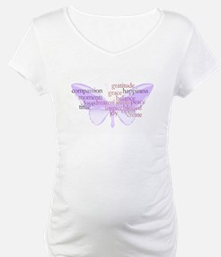 Peace and Gratitude Butterfly Shirt