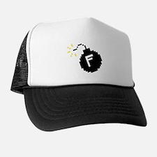 8-Bit F-Bomb Trucker Hat