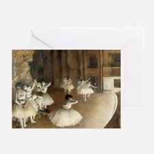 Rehearsal Ballet Onstage Greeting Cards (Pk of 20)