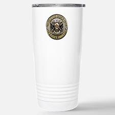 US Navy Diver Metal Travel Mug