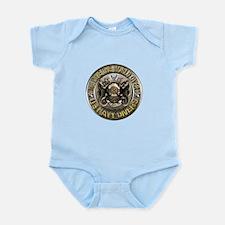 US Navy Diver Metal Infant Bodysuit