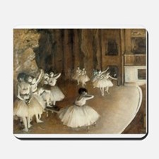 Rehearsal Ballet Onstage Mousepad