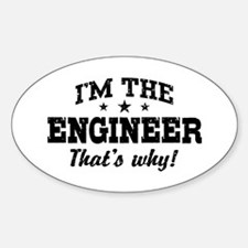 Engineer Sticker (Oval)