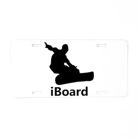 iboard aluminum license plate by expressivemind. Black Bedroom Furniture Sets. Home Design Ideas