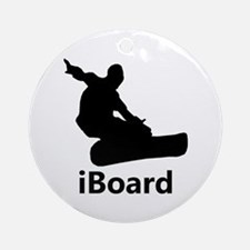 iBoard Ornament (Round)