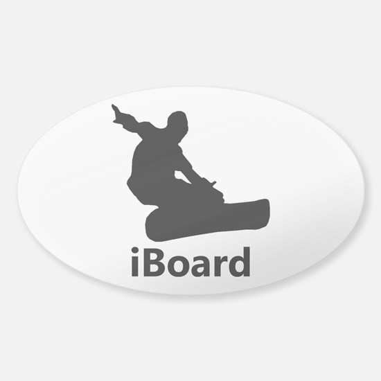 iBoard Sticker (Oval)