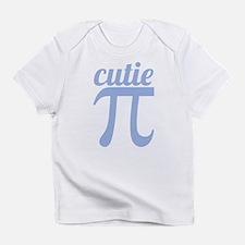 Cutie Pi Blue Infant T-Shirt