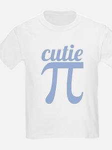 Cutie Pi Blue T-Shirt