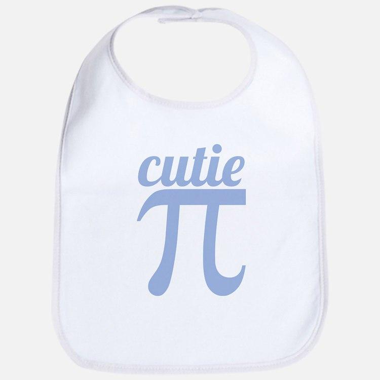 Cutie Pi Blue Bib