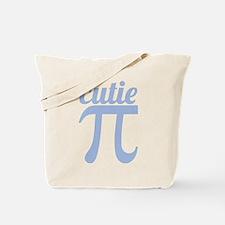 Cutie Pi Blue Tote Bag