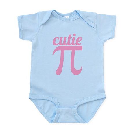 Cutie Pi Pink Infant Bodysuit