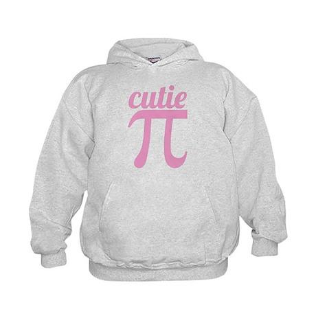 Cutie Pi Pink Kids Hoodie