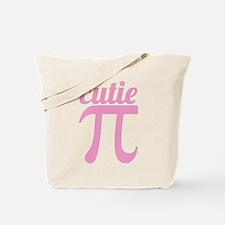 Cutie Pi Pink Tote Bag