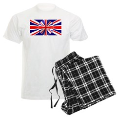 Union Jack Flag Design Pajamas