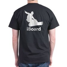 iBoard Back Printed T-Shirt